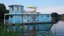 Hausboot, Wohnschiff, Immobilie, 14,94 x 5,45 m mit Turmzimmer