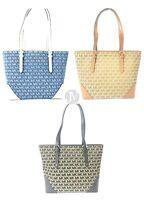 Michael Kors Lillian Leather Large TZ Tote Handbag Bag