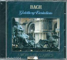 Bach. Goldberg Variations (2000) CD NUOVO SIGILLATO Joel Spiegelman