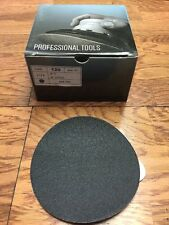 """5"""" Silicon Carbide PSA Sand Paper 120 Grit, Pack of 50"""