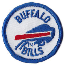 "BUFFALO BILLS NFL FOOTBALL 2"" ROUND TEAM LOGO PATCH"