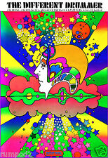 Movie Poster/'The Different Drummer 1968 Reproduction/Psychedelic/Approx:13x19in