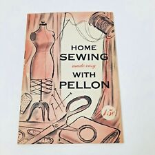 Vintage 1954 Home Sewing Book made Easy with Pellon Craft Collectible Manual