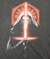 Kylo Ren Men's 2XL T-Shirt Licensed Star Wars Movie XXL Lightsaber Ben Solo