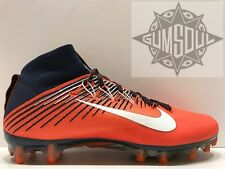 NIKE VAPOR UNTOUCHABLE 2 FOOTBALL CLEATS BRONCOS BLUE ORANGE 835646 406 sz 11