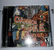Cannon spike dreamcast ntsc America / Canada game boxed