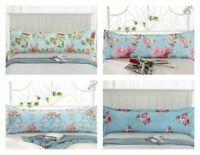 100% Cotton Body Pillow Case Cover Long Sleep Pillow Case Floral