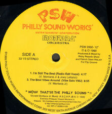 MONTANA ORCHESTRA  - I'm Still The Best - Philly Sound Works