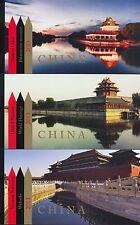 UNO - 2013 MARKENHEFTE UNESCO WELTERBE CHINA  MH 16 POSTFRISCH ** - GENF NY WIEN