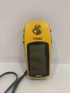 GARMIN ETREX PERSONAL NAVIGATOR 12 CHANNEL GPS RECEIVER (Read Description)