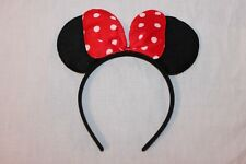 NEW 1-  MINNIE MOUSE PLUSH COSTUME EARS PARTY FAVORS SUPPLIES