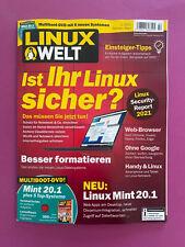 LINUX WELT Nr.2/2021 .. Ist Ihr Linux sicher? .. Neu!!!