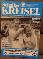 FC Schalke 04 + Schalker Kreisel Magazin + 04.10.1986 Bundesliga 1.FC Köln /588