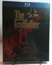 The Godfather Collection(Coppola Restoration)(Blu-ray,2008,4-Disc)NEW-Free S&H
