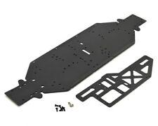 Losi Black 4mm Aluminium DBXL-E Chassis w/ Brace