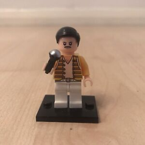FREDDIE MERCURY FIGURE QUEEN NOVELTY GIFT TOY MICROPHONE SIMILAR TO LEGO