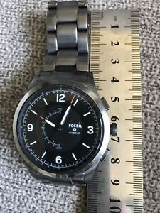 mens fossil Hybrid NDW3A smart watch Fully Working New Battery Fitted