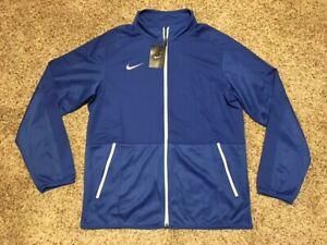 $65 Men's Nike Rivalry Dri Fit Lightweight Full Zip Basketball Jacket Royal
