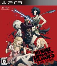 (Used) PS3 No More Heroes: Eiyuutachi no Rakuen  [Import Japan] Free Shipping