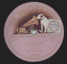 Madame Nellie Melba singt Ronald 1906 : O Lovely Night