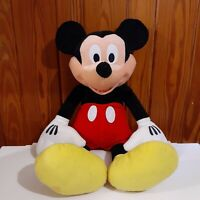 Large Mickey Mouse Disney Plush Stuffed Animal Just Play Collectible Retired