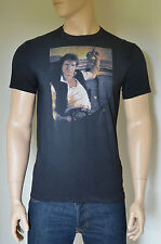 NUOVO Abercrombie & Fitch vintage Star Wars Han Solo GRAPHIC TEE T-SHIRT S