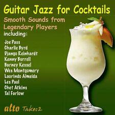CD GUITAR SOUNDS FOR COCKTAILS PASS BYRD REINHARDT KESSEL ATKINS PAUL BURRELL