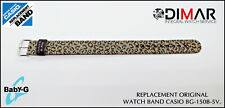 REPLACEMENT ORIGINAL  WATCH BAND CASIO BABY-G BG-150B-5V.