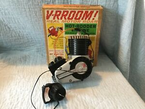 Mattel V-RROOM 1960s Bicycle Motor w/box & Key,Classic Vintage Toy,Tested/Works.