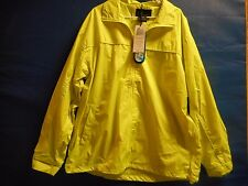 i 5 Apparel SAFETY YELLOW- Water Resistant Jacket Size XL NWT-W/DEFECT-