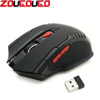 2.4GHz Gaming Wireless Mice+USB Receiver 2000DPI Gamer Bluetooth Mouse  Laptp/PC