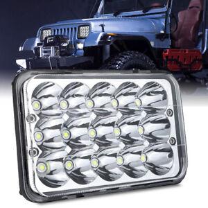 """1PC 4x6"""" Headlight Bulb LED Light Driving For Honda XR250 XR400 XR650 Suzuki DRZ"""