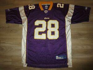 Adrian Peterson #28 Minnesota Vikings NFL Reebok Jersey XL Rookie