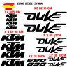 PEGATINAS VINILO ADHESIVO KTM DUKE 690 MOTO VINIL STICKER DECAL KIT DE 16 unds