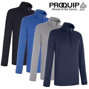 ProQuip Pro Tech Men's Long Sleeve Golf Windshirt - NEW! 2021 *ALL COLOURS*