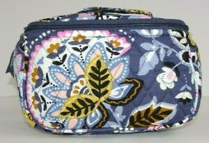 NWT Vera Bradley Travel Cosmetic CHARMONT MEADOW Makeup Case Bag