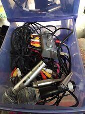 micro karaoké x2 + cables