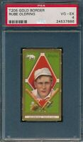 1911 T205 Rube Oldring Piedmont PSA 4 VG-EX *OBGcards*