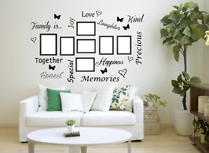 Family Is Quote Wall Art Vinyl Sticker Words Decor Hall - Home Decor