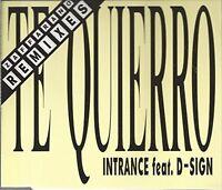 Intrance Te quierro (Zafforano Remixes, 1993, feat. D-Sign) [Maxi-CD]