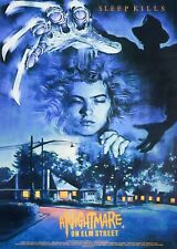 """A NIGHTMARE ON ELM STREET repro UK double crown poster 30x20"""" Wes Craven FREEP&P"""