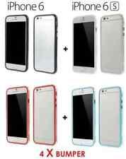 Lot de 4 Coques Bumper protection contour iPhone 6(S)