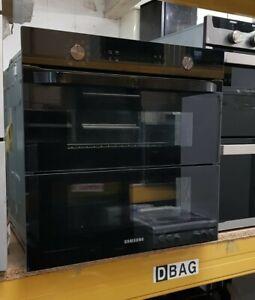 Samsung Prezio Dual Cook Flex NV75N5641RB Built In Electric Single Oven - Black
