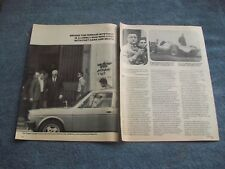 "1979 Enzo Ferrari Vintage Profile Article ""Behind the Ferrari Mystique...."""