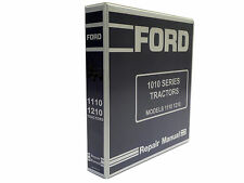 Ford 1110 1210 Tractor Factory Service Manual Repair Shop Book New With Binder
