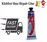 Klebfest Shoe Repair Glue 30g for Leather & Rubber Contact Adhesive Shoe-Stick