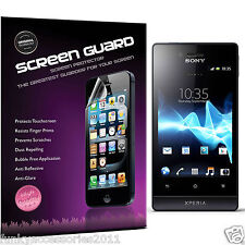 5 Pack High Quality Excellent Scratch Screen Protecto for Sony Xperia Miro ST23i