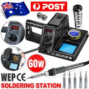 60W Soldering Iron Solder Rework Station Variable Temperature LED Display