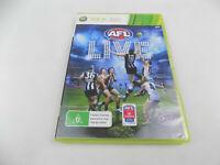 Mint Disc Xbox 360 AFL Live Free Postage