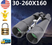 30-260x High Power Wide Angle Zoomable Binoculars Night Vision Optics Telescope